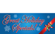 Holiday Sale Banners - Vinyl Signs Style 1600
