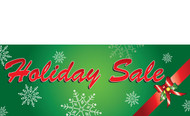 Green Holiday Sale Banner Style 1700