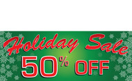 Holiday Sale Banners - Vinyl Signs Style 1900