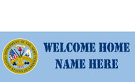 Welcome Home Banners - Signs Style 1300