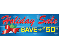 Holiday Sale Save Up To (Percentage) Banner Style 2100