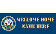 Welcome Home Banners - Signs Style 1100
