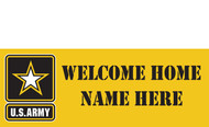 Welcome Home Banners - Signs Style 1000