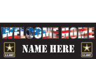 Welcome Home Banners - Signs Style 1800