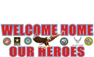 Welcome Home Banners - Signs Style 2200