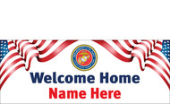 Welcome Home Banners - Signs Style 2300