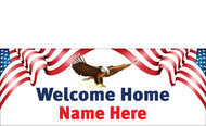 Welcome Home Banners - Signs Style 2400