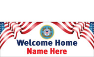 Welcome Home Banners - Signs Style 2600