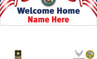 Welcome Home Banners - Signs Style 2700