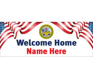 Welcome Home Banners - Signs Style 2800
