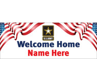 Welcome Home Banners - Signs Style 2900