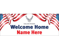 Welcome Home Banners - Signs Style 3000