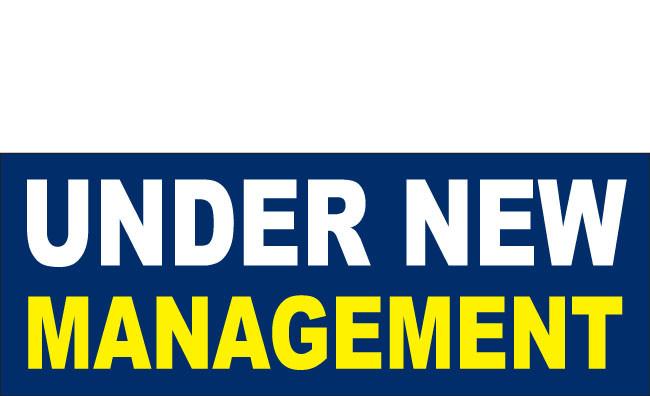 Under New Management Banner Sign Design Id 1400