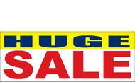 Huge Sale Banner-Vinyl Banner Sign 3300