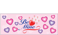 Happy Valentine's Day Banners Sign Vinyl 1300