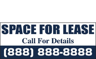 For Lease Banners Signs Style 1300