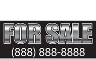 For Sale Banner Signs 1300
