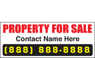 For Sale Banner Signs 1500