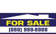 For Sale Banner Signs 1400