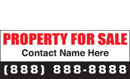 For Sale Banner Signs 1600