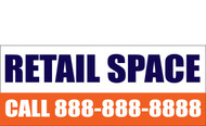 Retail Space Banners Signs 1000