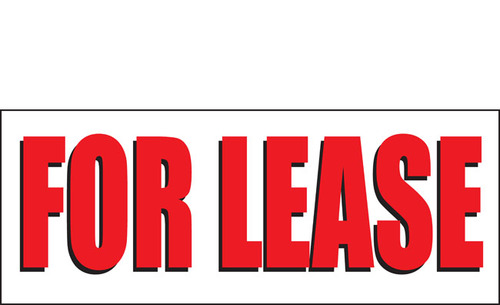 For Lease Banner Sign Vinyl Style 2300