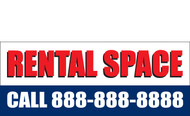 Rental Space Banner Sign Style 1100