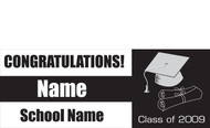 Graduation Banners - Signs 2500
