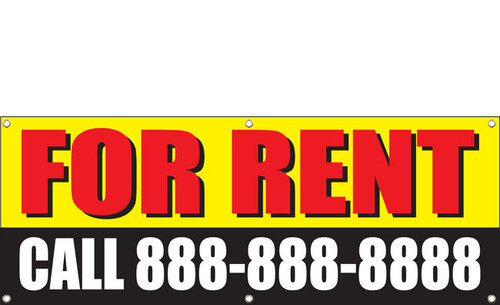 For Rent Apartment Banner Style 1000
