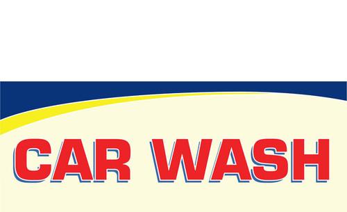 Car Wash Banner Sign