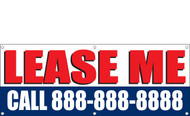 For Lease Banners with phone number