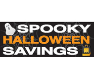 Halloween Banners - Vinyl Signs Style 3700