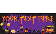 Halloween Banners - Vinyl Signs Style 3800