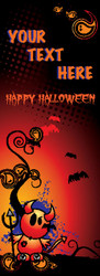 Halloween Banners - Vinyl Signs Style 3900