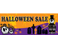 Halloween Banners - Vinyl Signs Style 4000