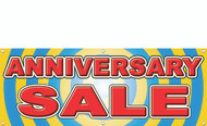 Anniversary sale banner style 2300