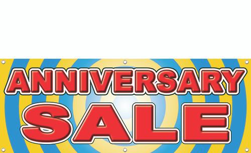 Anniversary sale banner style 2300