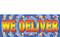 We Deliver Full Color Advertising Vinyl Banner Sign Style 1200