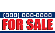 For Sale Banners Vinyl Signs 2100