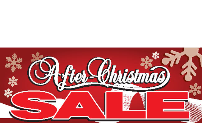 11b88d1d02 After Christmas Sale Banners - Signs Style ID #3000 | DPSBanners.com