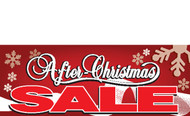 After Christmas Sale Banners - Signs Style 3000