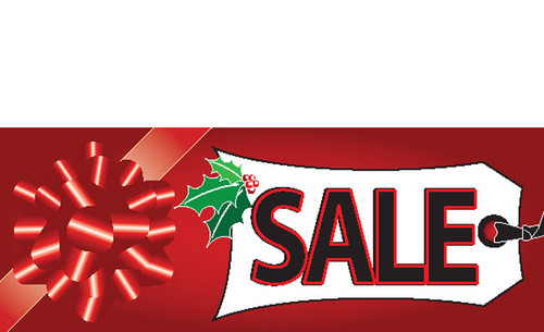 Tagged Present Banner Sale Banner Sign Style 4300