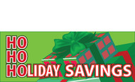 Holiday Savings Advertising Banner Sign Style 5100