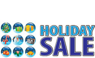 Holiday Sale Advertising Sign Banner Style 5200