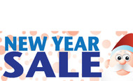 NewYear Sales Signs Banners Style 5300