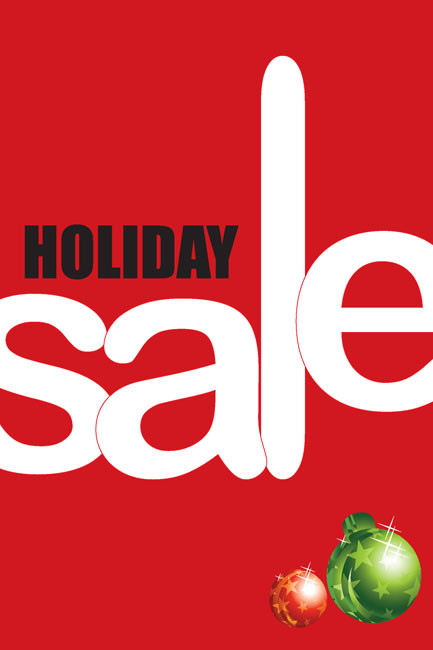 Holiday Sale Posters Style1000