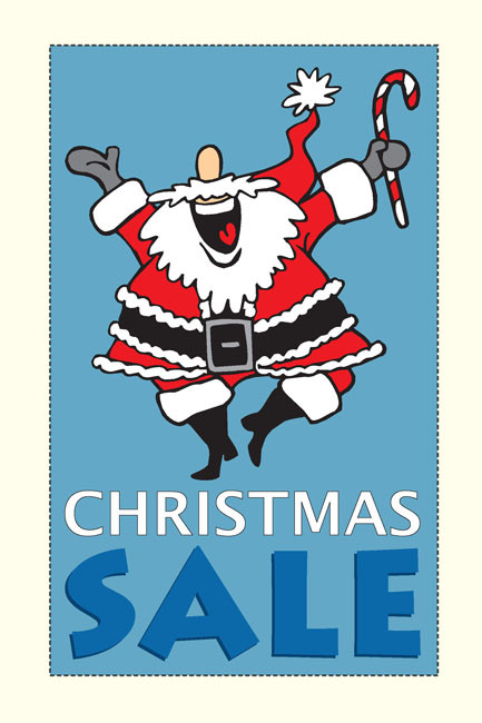 Holiday Sale Posters Style 1100