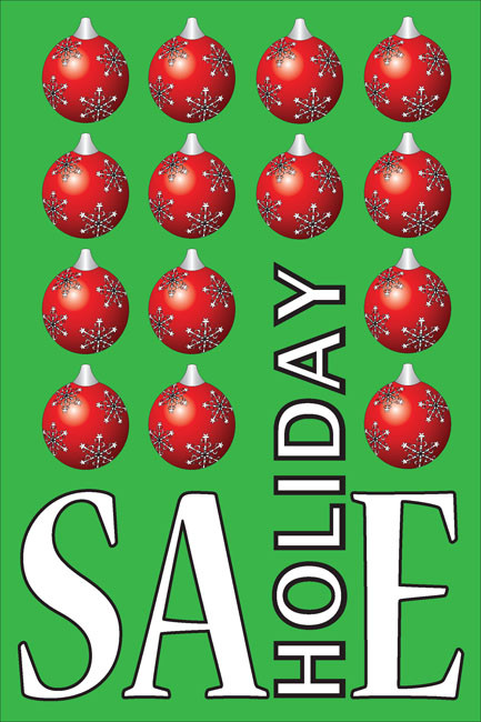 Holiday Sale Posters Style 1800