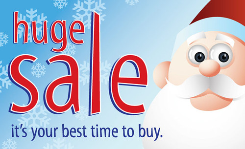 Holiday Sale Posters Style2100