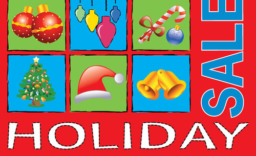 Holiday Sale Posters Style 2300